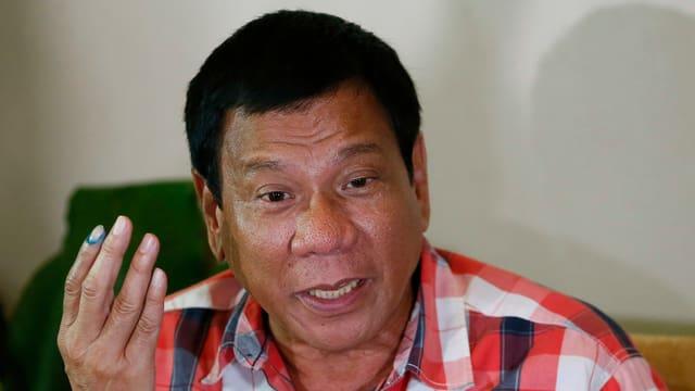 portrait da Rodrigo Duterte