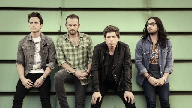 Die US-Band Kings Of Leon