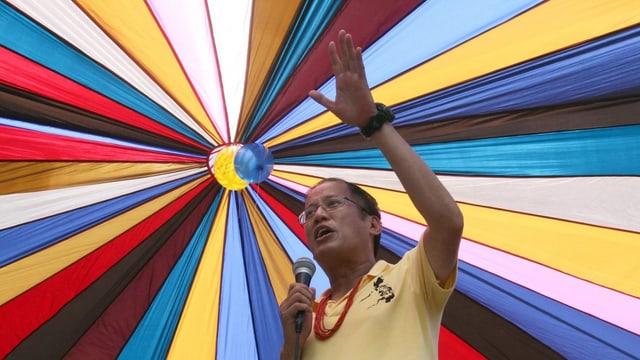 Präsident Aquino