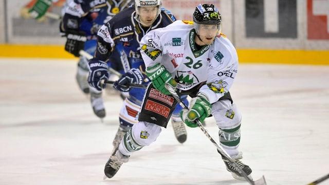 Bild der Eishockey-Partie Olten-La Chaux-de-Fonds