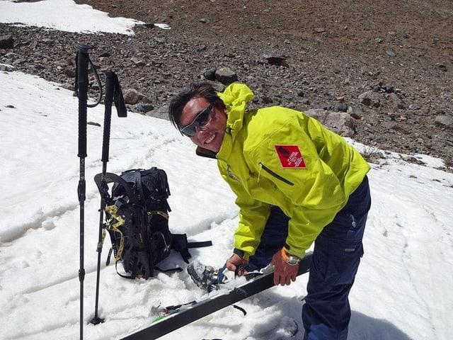 Sajjad, der Bergführer
