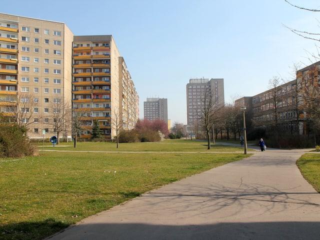 Plattenbau-Quartier