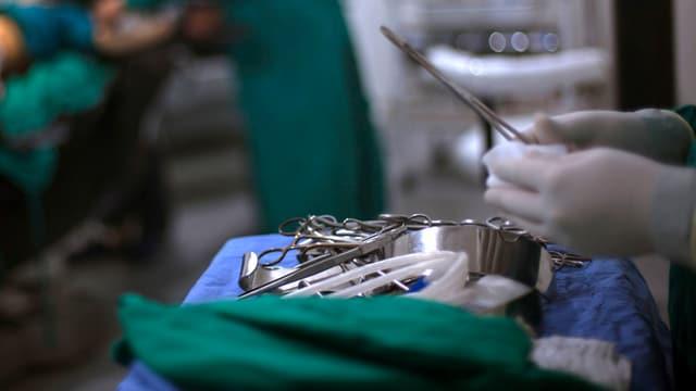 Szene aus einem Operationssaal