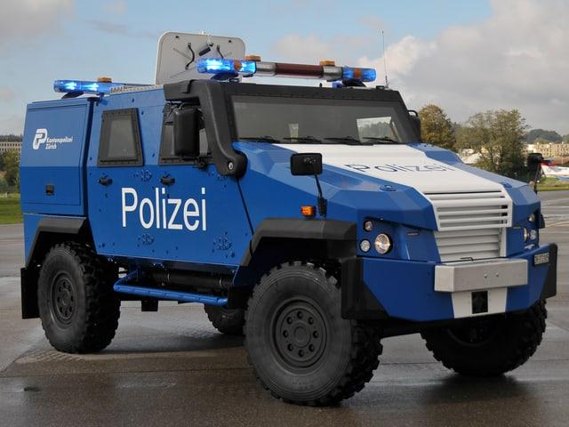 Panzerwagen Kantonspolizei Zürich