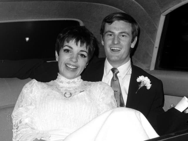 Liza Minnelli und Peter Allen