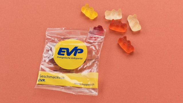 Werbeartikel der EVP