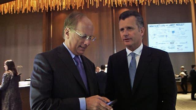 Larry Fink und Philipp Hildebrand