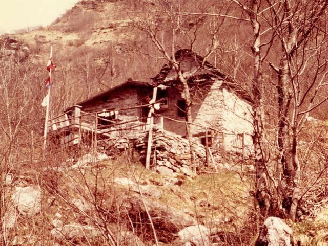 Rustico von Kathrin Rüegg in Gerra, Verzasca, in seinem Urzustand.