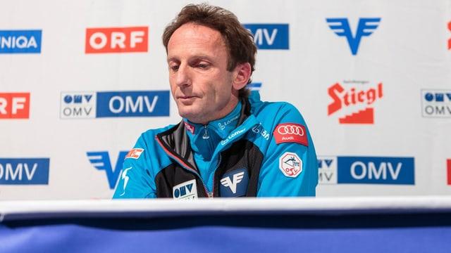 ÖSV-Trainer Heinz Kuttin.