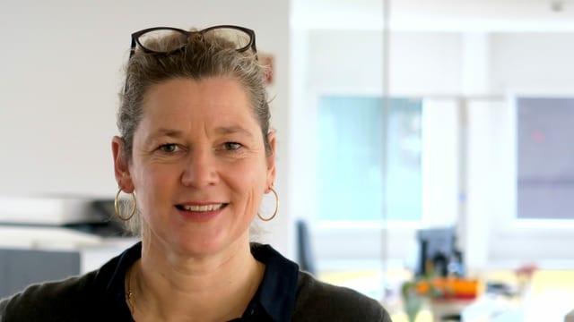 Die Co-Chefin der Remei in Rotkreuz: Marion Röttges.