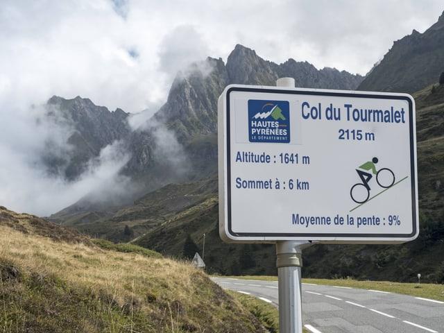 Am Tourmalet werden die 2000 Höhenmeter geknackt.