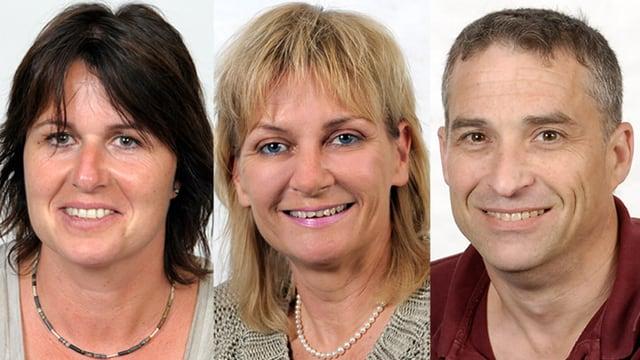 Beatrix Blauel, Therese Kämpfer und Tim Shelton