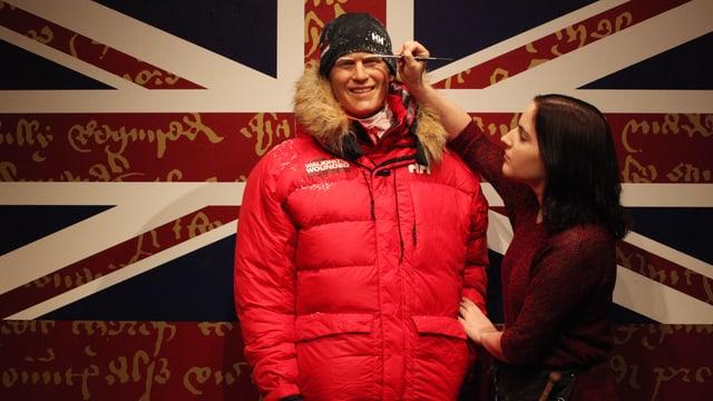 Prinz Harry im Wachsfiguren-Kabinett von Madame Tussauds in London.