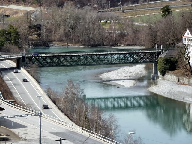 Brücke ohne Gerüst