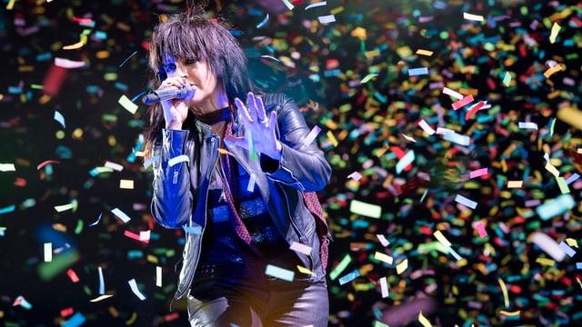 Nena bei einem Auftritt Anfang September in Bern.