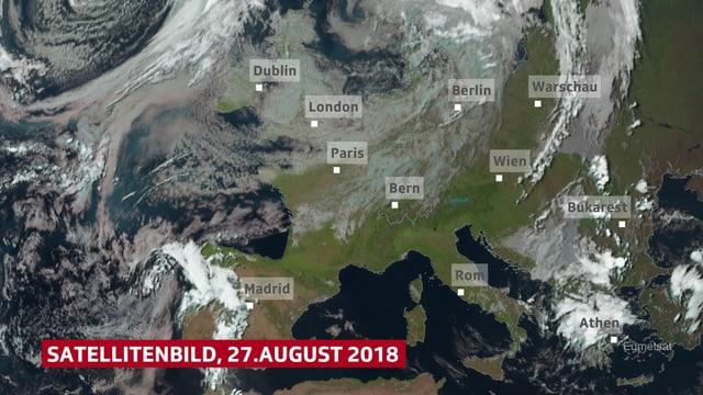Satellitenbild sichtbarer Bereich