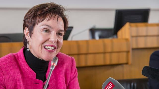 Die Baselbieter Bildungsdirektorin Monica Gschwind.