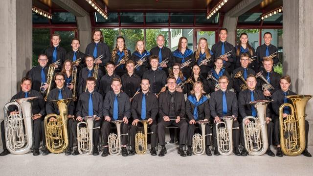 Brass Band Berner Oberland Junior.