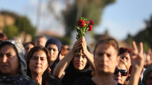 Ina commemoraziun ad Ankara.
