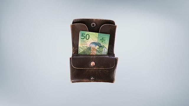 bursa cun en ina nota da 50 francs (nova)