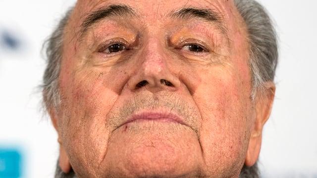 Il president da la FIFA, Sepp Blatter.