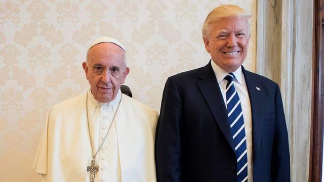 Trump und der Papst