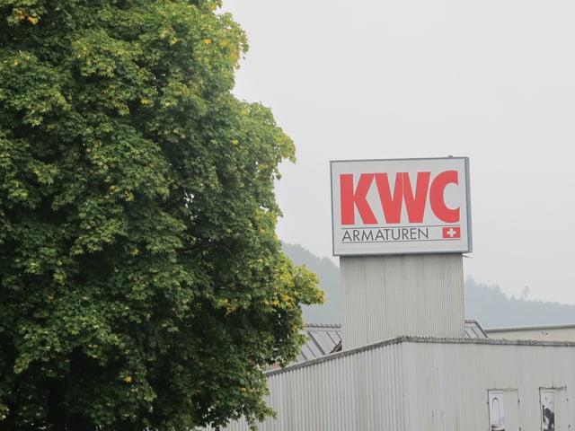 KWC-Schild