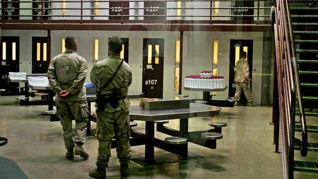 Wärter im US-Gefangenenlager Guantánamo.