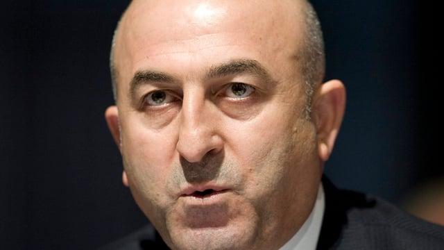 Purtret dal minister da l'exteriur tirc, Mevlüt Cavusoglu.