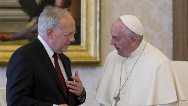 Johann Schneider Amman ed il papa Francestg