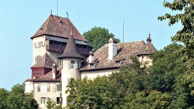 Schloss Wildenstein im Wald