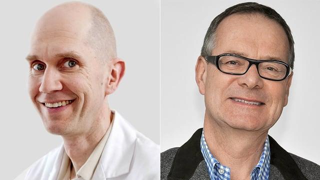 Prof. Sönke Johannes und Dr. Christoph von Hippel