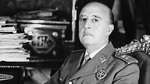 Porträt von Francisco Franco