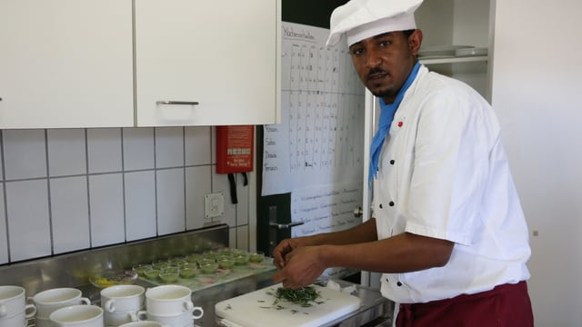Meseret da l'Eritrea che cuschina.