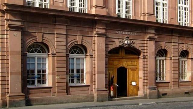 Sitz der Basler Bürgergemeinde in der Stadthausgasse von aussen
