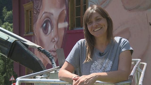 Caro Pepe è artista da street art oriunda da l'Argentina.