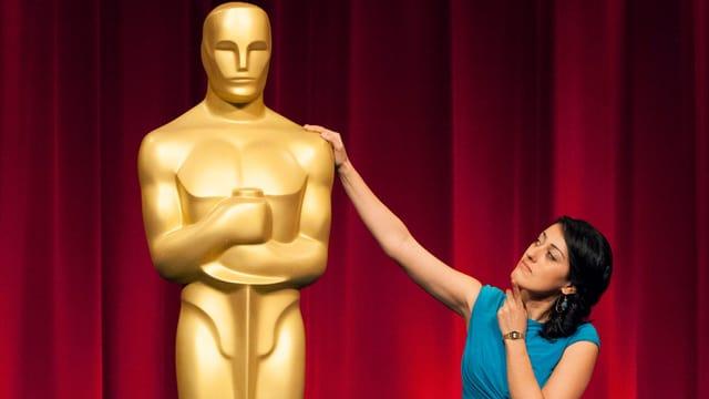 Die Zürcher Regisseurin Talkhon Hamzawi greift nach einem Oscar.