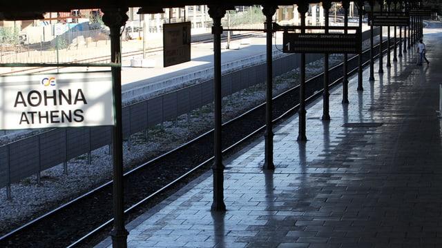 Staziun da tren ad Athen.