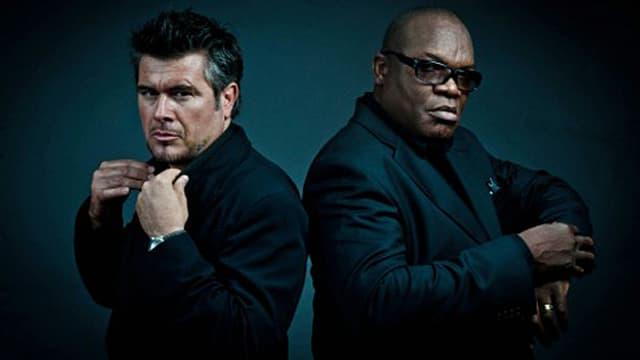 Mr. Mike alias Michael Anthony Hall (links) und DJ Djaimin treten auch heute noch hin und wieder gemeinsam auf.