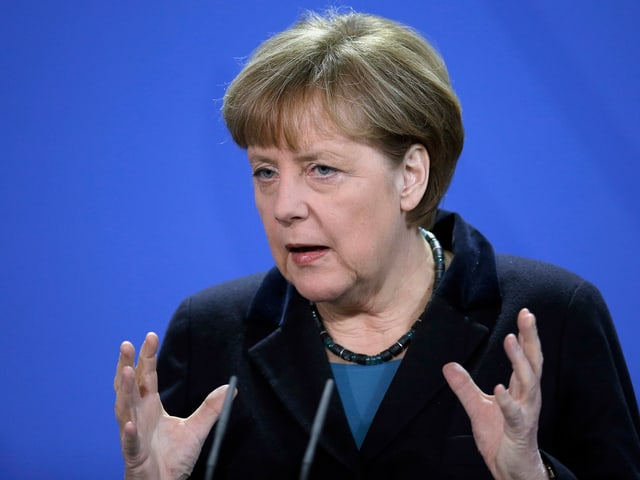 Angela Merkel im Close Up