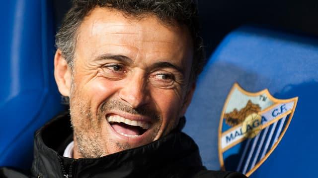 Barcelona-Coach Luis Enrique.