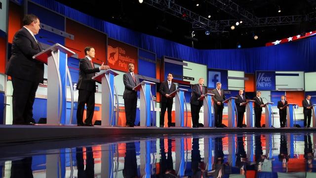 Erste TV-Debatte