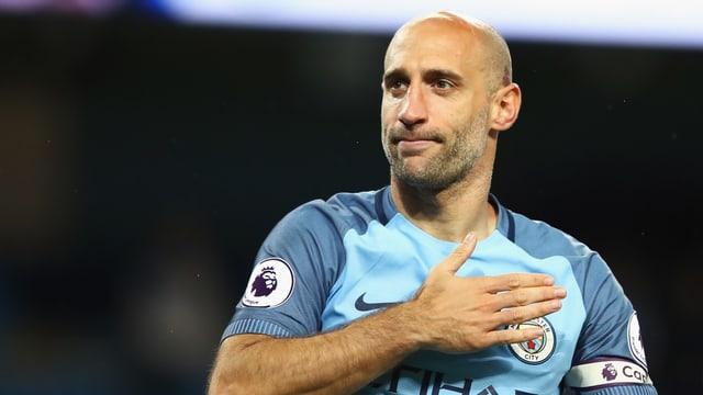 Pablo Zabaleta verlässt Manchester City in Richtung West Ham.