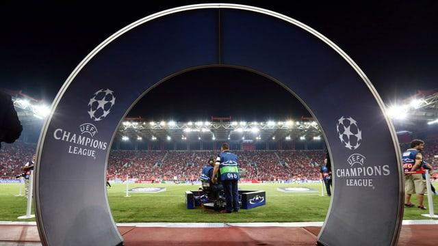Symbolbild Champions League.