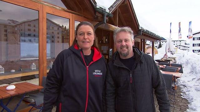 Video «Kanton Graubünden – Tag 4 – Restaurant Tennishüsli, Lenzerheide» abspielen