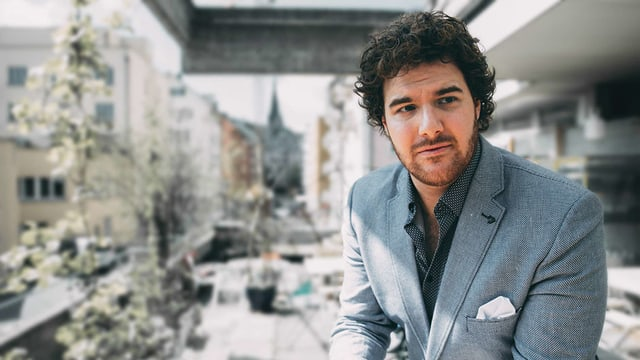 Der junge Luzerner Tenor Mauro Peter.