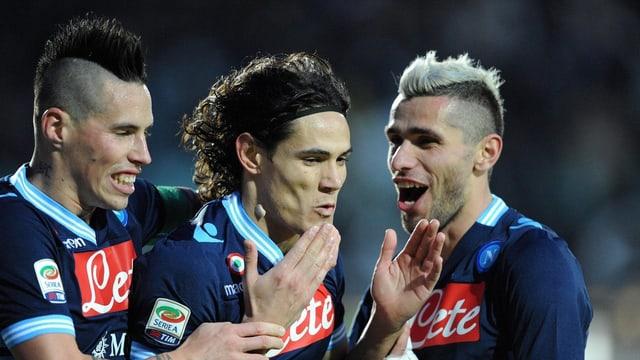 Für Napoli geht es im Spitzenkampf um alles.