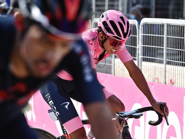 Egan Bernal auf dem Weg zum erstmaligen Giro-Triumph.