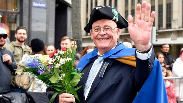 Verabschiedet sich im nächsten Frühling: Markus Kägi tritt bei den Wahlen für den Zürcher Regierungsrat nicht mehr an.