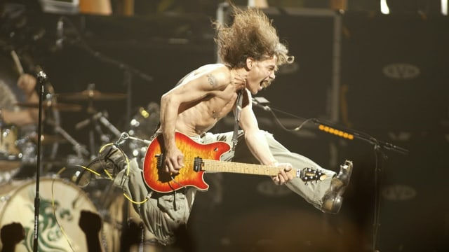 Porträt von Eddie Van Halen